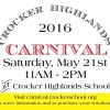2016  Spring Carnival – Purchase your wristband today!