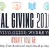 Annual Giving 2016/2017!